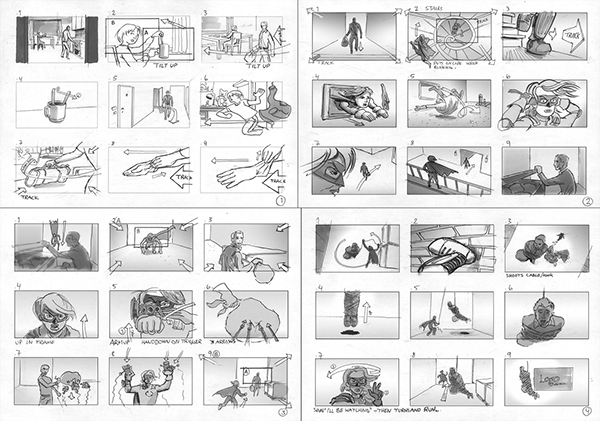 storyboard for commercial - Ozilalmanoof - commercial storyboards