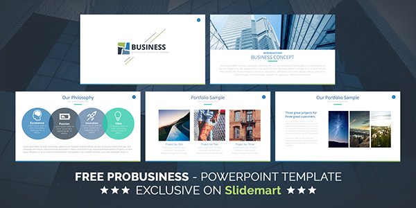 FREE ProBusiness Keynote Presentation Template on Behance