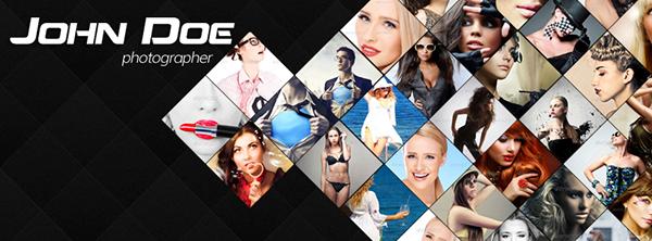 facebook timeline cover on Behance - facebook collage template