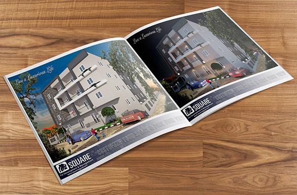 Square For Development  Management Brochures Design on AIGA Member