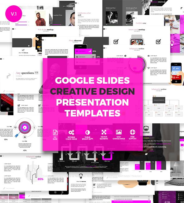 Creative Slides - Google Slides Presentation Templates on Behance - google slides themes to import