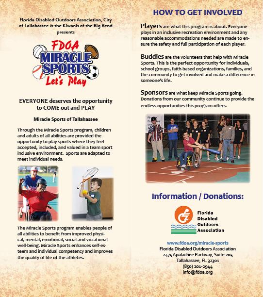 Miracle Sports brochure on Behance - sports brochure