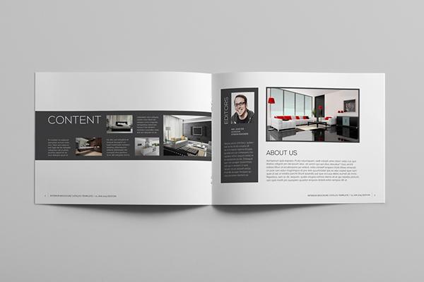 Interior Brochure Template on Behance - interior design brochure template