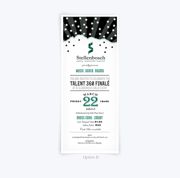 Talent 360 - Invitation, tickets and program design on Behance - invitation forms