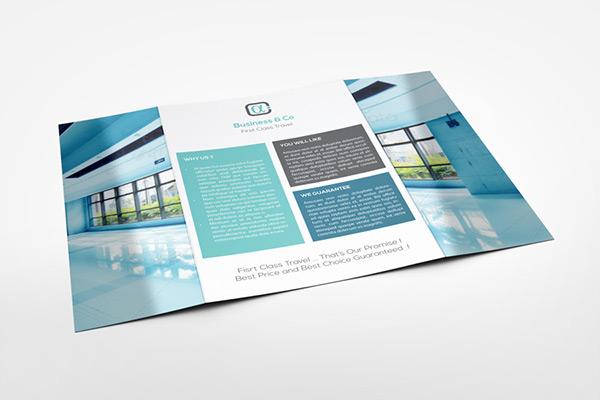 A4 Gatefold Brochure Mockup on Behance - gate fold brochure mockup
