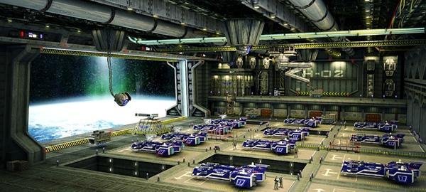 Wallpaper Jesus 3d Hangar Sci Fi On Behance