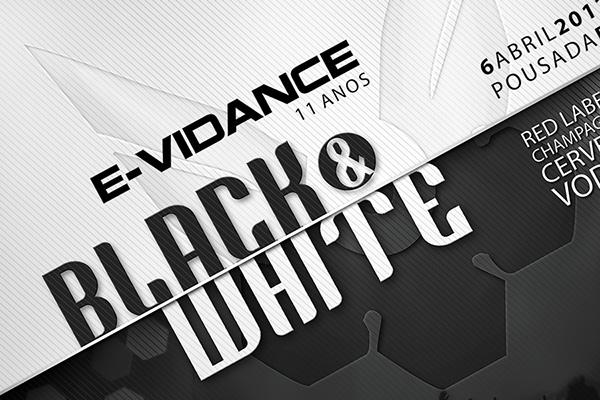 Black and White Flyer on Behance