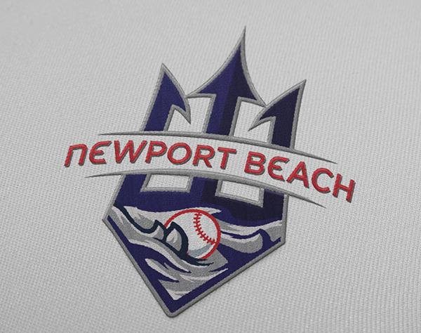 Newport Beach Baseball Logos on Student Show