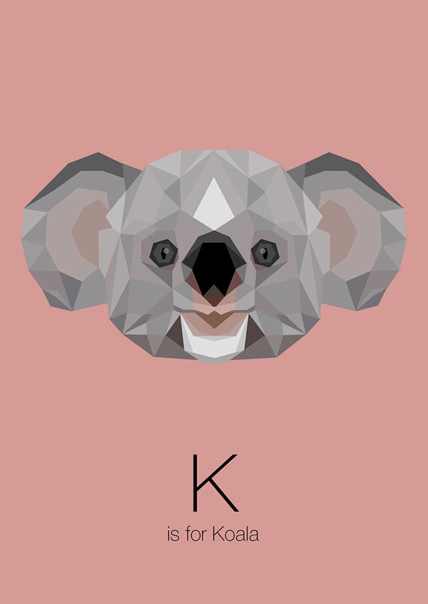 Lion Live Wallpaper Iphone Animal Alphabet On Behance