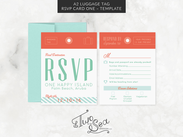 Travel + Passport Themed Wedding Stationery Templates on Behance