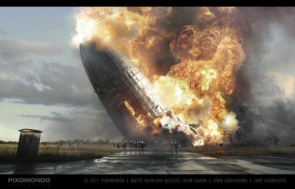 Making Of Hindenburg Disaster On Behance