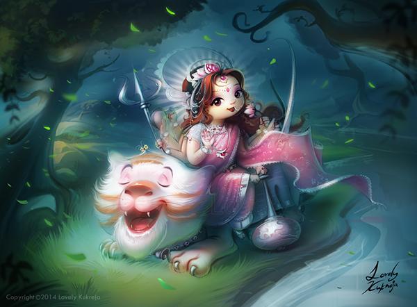 Best Radha Krishna Hd Wallpaper Maa Durga On Behance