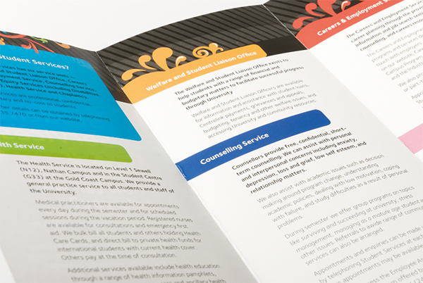 Student Services Brochure on Behance - services brochure