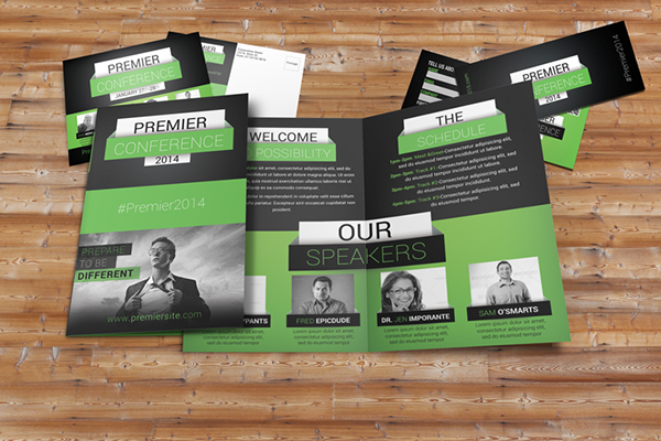 Premier Conference Brochure Package on Behance - conference brochure template