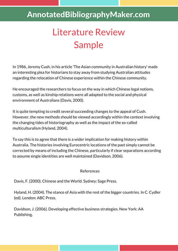 Literature Review Sample on Pantone Canvas Gallery
