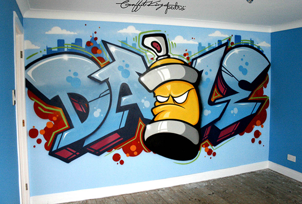 Ibrahim 3d Name Wallpaper Graffiti In My Room On Behance