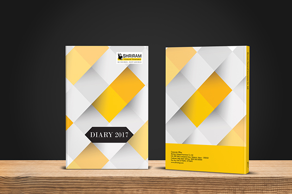 2017 Corporate Diary Designs for Shriram GIC on Pantone Canvas Gallery - diary design