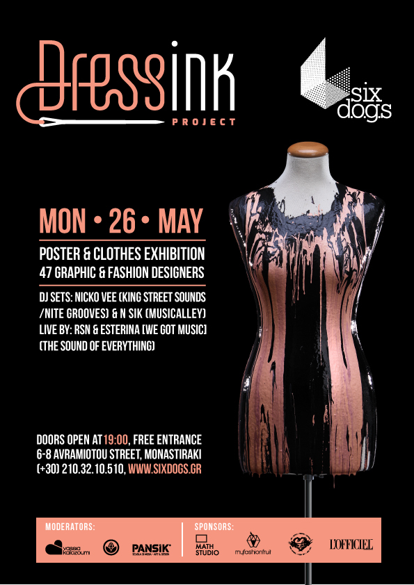 Dressink Project Poster  Fashion Exhibition on Behance