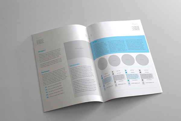 Web Design Proposal Template on Behance - graphic design proposal template