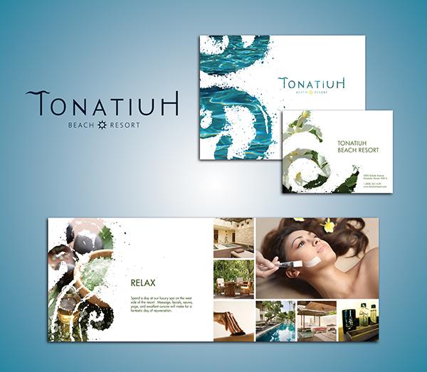 Beach Resort Brochure on Behance