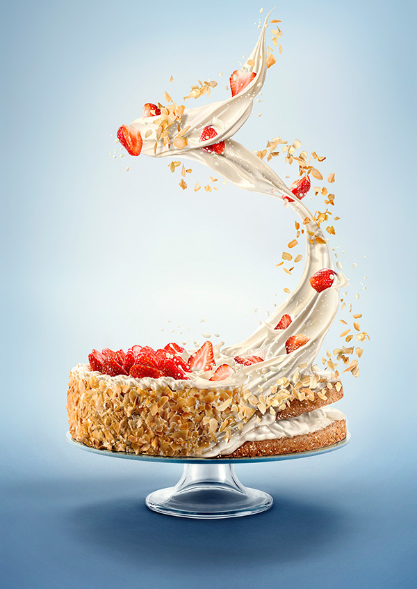 Moodboard Design The Cake On Behance