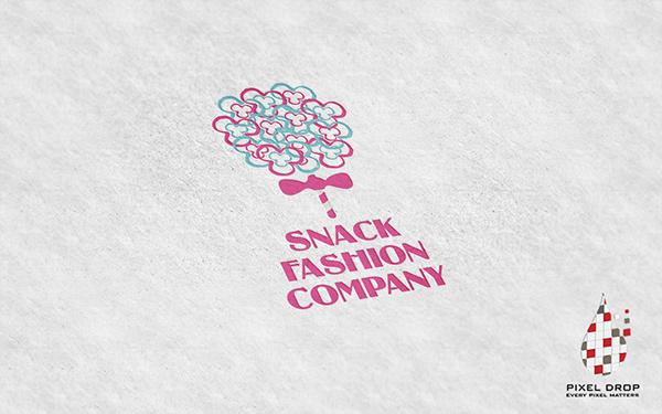 Snack Fashion Logo Design (Proposal) on Behance