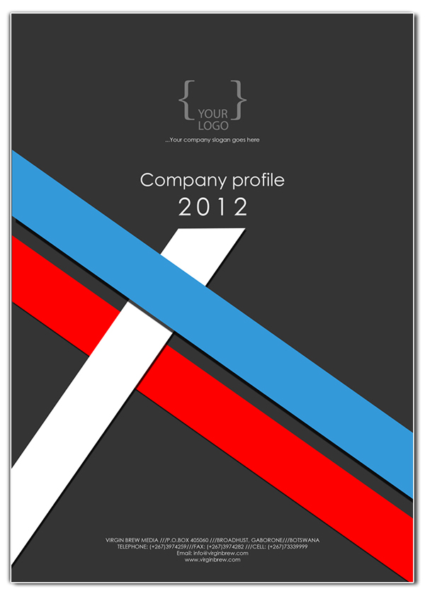 Company Profile Templates Samples In Word Project Company Profile Cover Design Templates On Behance