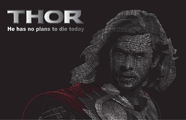 Graphic Design Quote Wallpaper Thor Caligram On Behance