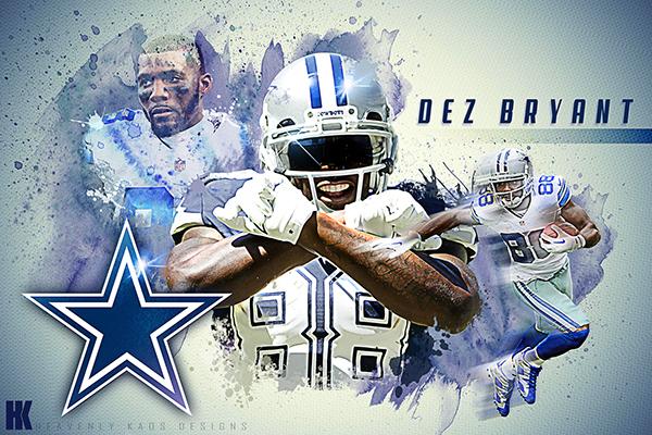 Dallas Cowboys Live Wallpaper Iphone Dez Bryant Wallpaper On Behance