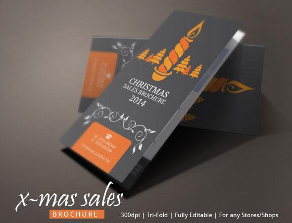 Christmas Sales Brochure Design on Behance