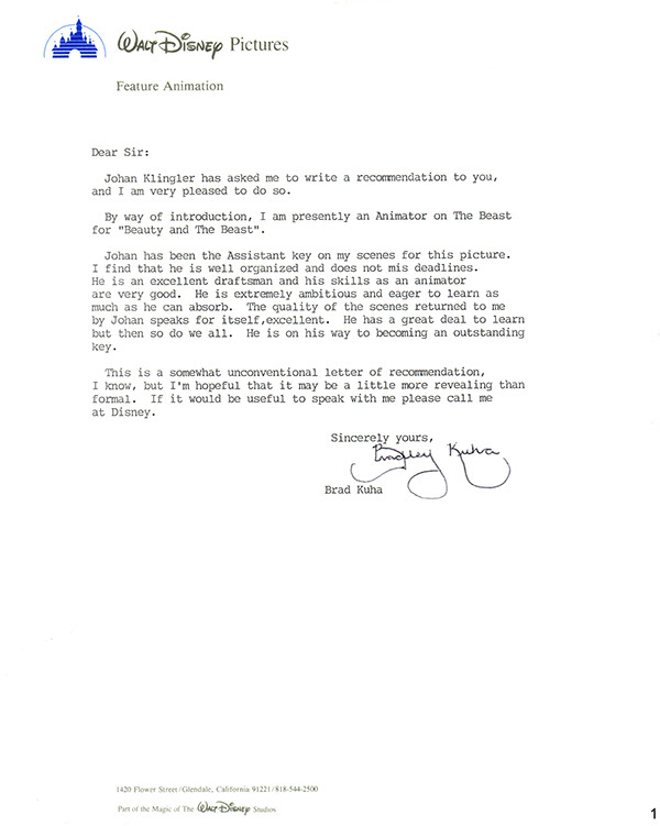 Letters of Recommendation from Colleagues on Behance - letter of recommendation for coworker