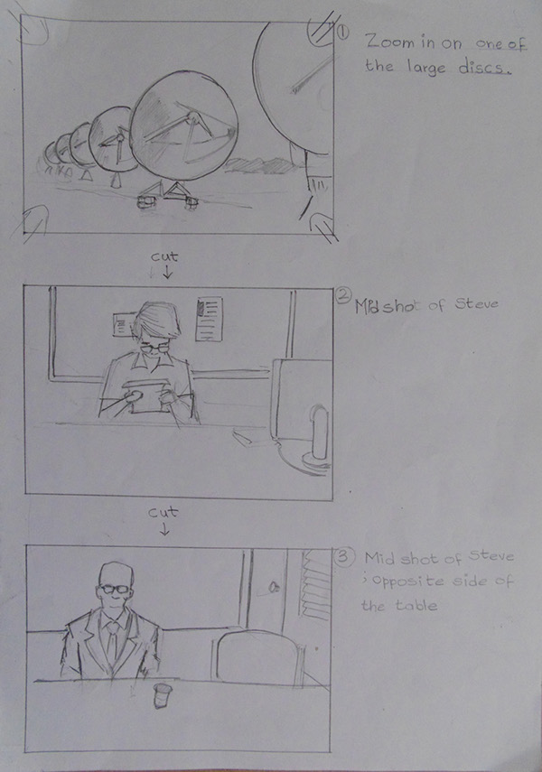 The Ancestor- Storyboard Sample on Student Show