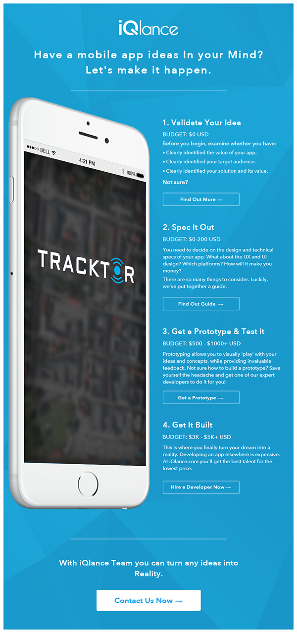 GPS Tracking - Apps Designing Idea on Wacom Gallery