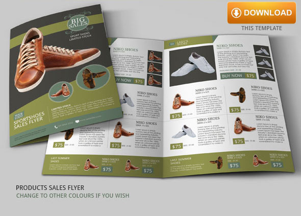 Sales Flyer Ideas Modern Design on Behance
