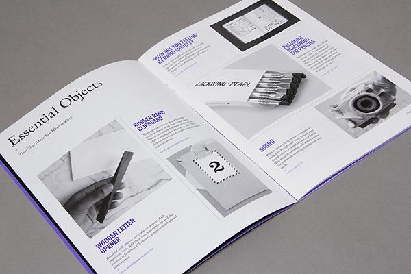 99U Quarterly Magazine  Issue No1 on Behance - modern brochure design