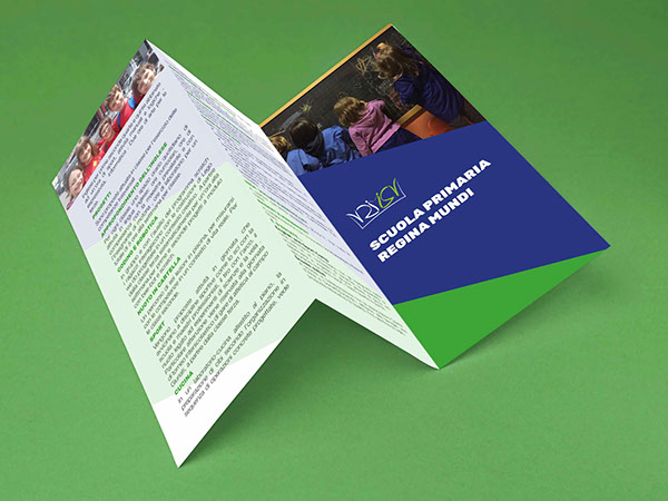 Tri-folder Brochure for Regina Mundi Elementary School on Student Show