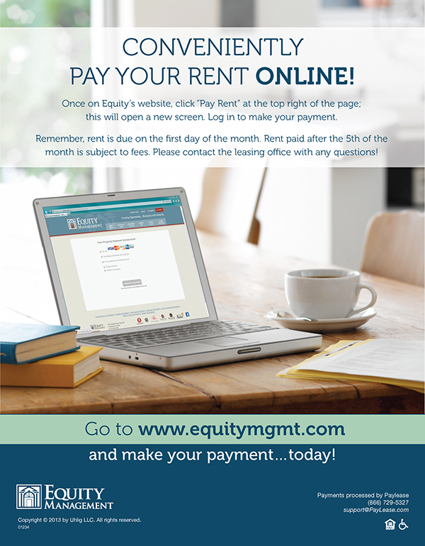 Pay Your Rent Online Flyers on Behance - how to make online flyers