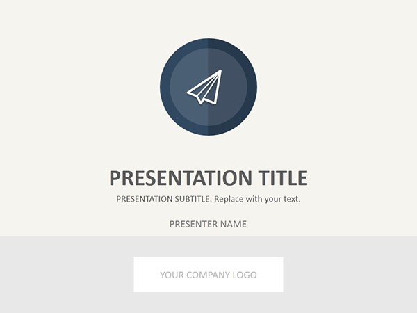Free Powerpoint Template from 24Slides on Behance