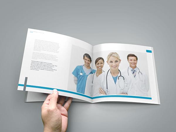 Medical / Healthcare Profile Brochure on Behance - healthcare brochure