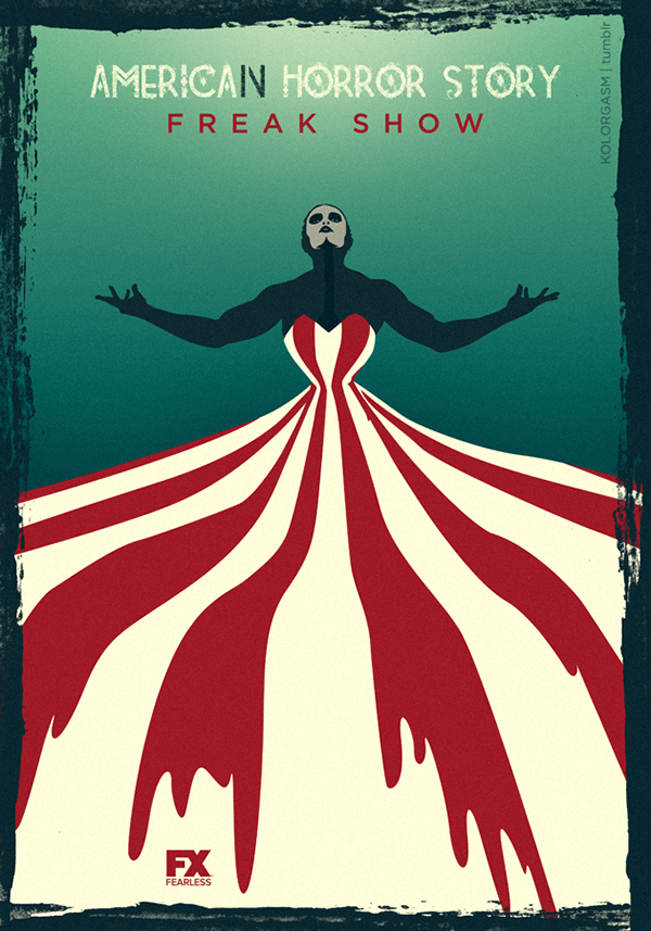 Girl Joker Wallpaper American Horror Story Freak Show On Behance
