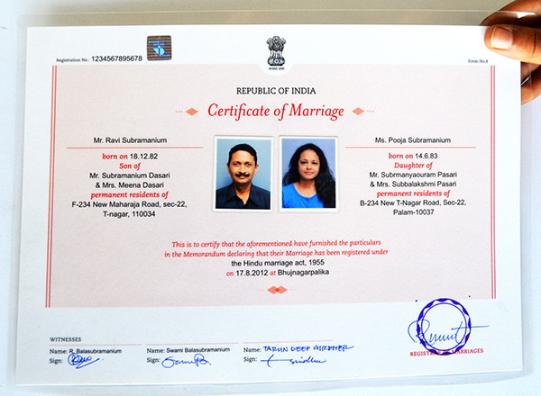 Birth,Death \ Marriage Certificates on Behance - marriage certificate