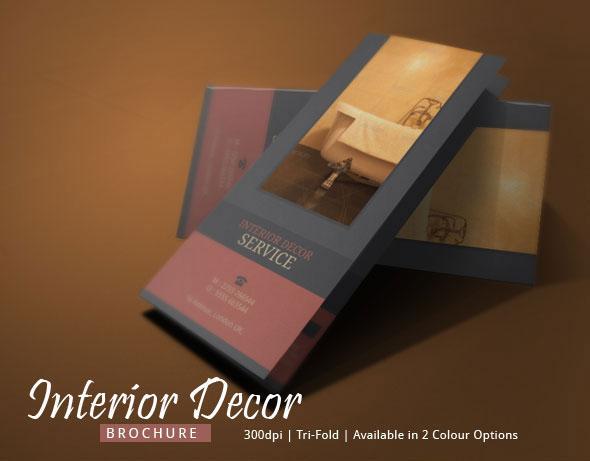 Interior Design Brochure Template Modern Design on Behance - interior design brochure template