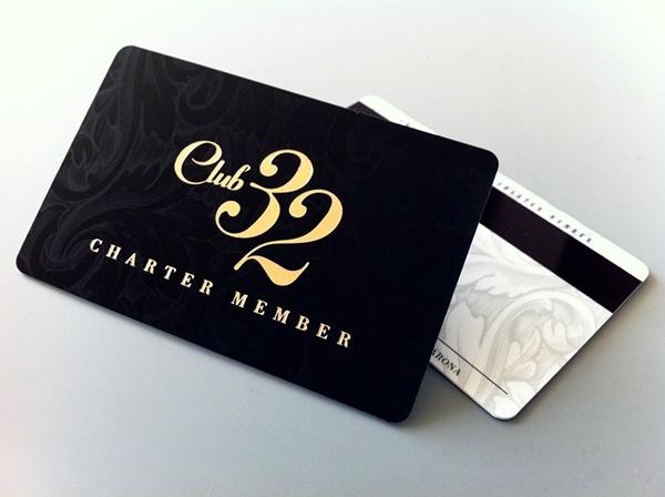Club 32 Card Design on Behance - club card design