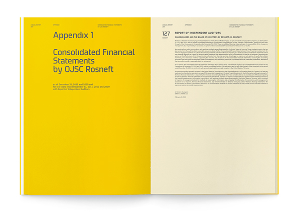 Rosneft - financial statements
