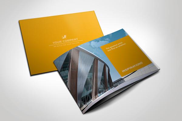 Modern Brochure Square on Behance - modern brochure design