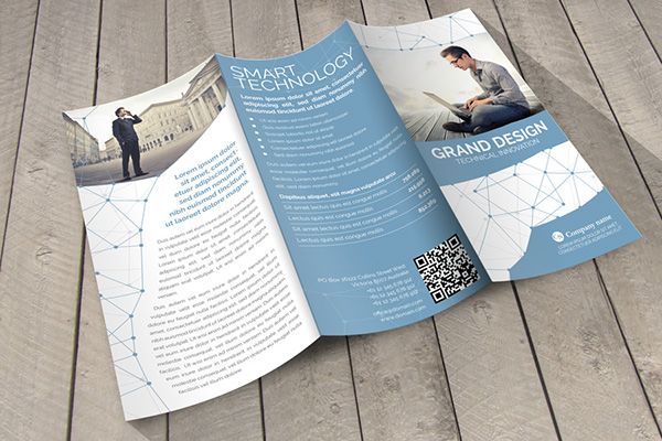 Grand Design Trifold Indesign Template on Behance - trifold indesign template