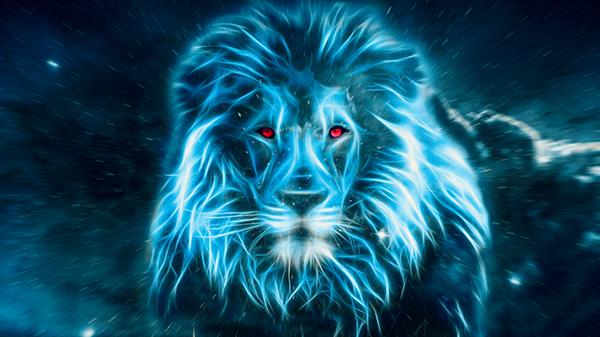 Earth 3d Live Wallpaper Windows 7 Blue Lion Big Blue Cat In Space On Behance