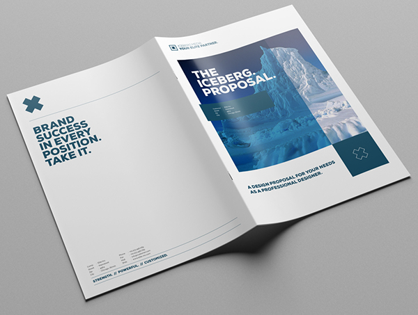Elite Media Proposal Design In A4 And Us Letter On Behance