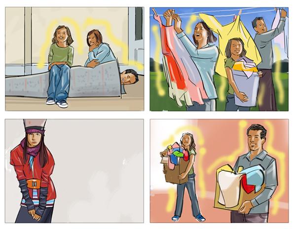 Storyboards/ illustration on Behance
