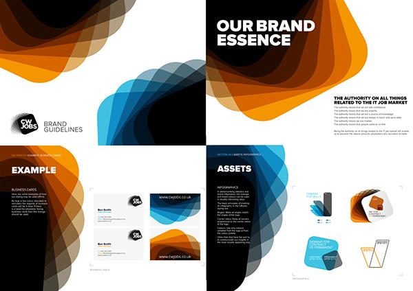 CW jobs branding on Behance